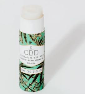 CBD lip balm chapstick tube