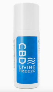 CBD living freeze pain and muscle relief