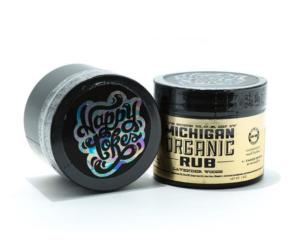Michigan organic rub topical cbd ointment